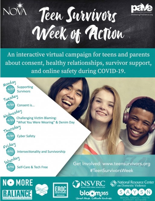 Teen Survivors Week of Action: An Interactive Virtual Campaign During COVID-19
