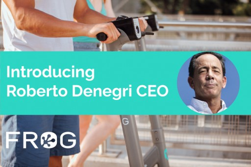 Frog Appoints Roberto Denegri as CEO