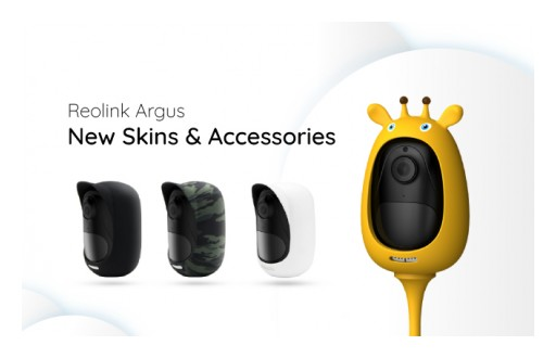 Reolink Introduces New Skins and Accessories for Reolink Argus
