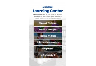 NUTRISHOP® Launches New Learning Center, Developed in Partnership with FITposium Founder James Patrick