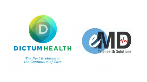 Dictum Health and eMD Telehealth Solutions Partner to Create a New Standard of Care for Rural America