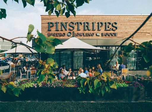 PINSTRIPES ANNOUNCES STRATEGIC PARTNERSHIP WITH WESTFIELD AND OPENING OF FIVE LOCATIONS IN 2022