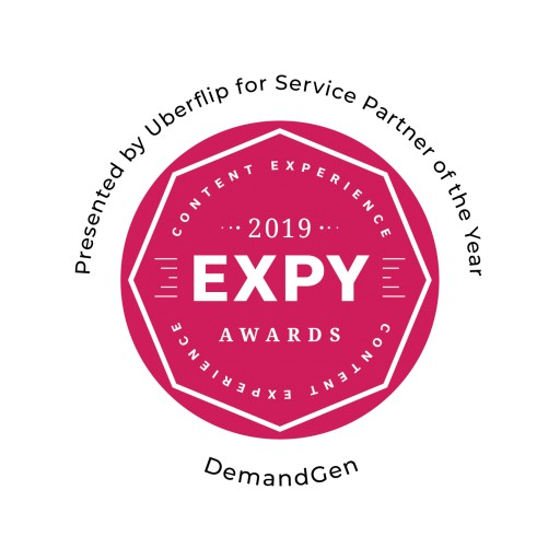 DemandGen Awarded Partner of the Year at the Uberflip 2019 EXPYs