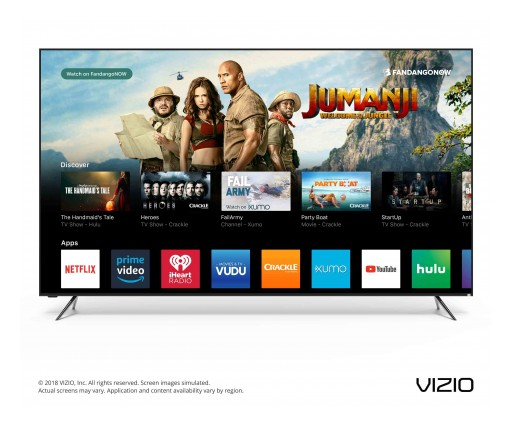 VIZIO Unveils Next Era of Smart TV With Launch of the 2018 SmartCast™ OS