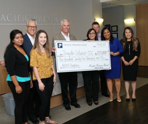 Pacific Premier Bank Makes Six-Figure Gift to Empower Youth Through Financial Literacy and Entrepreneurship