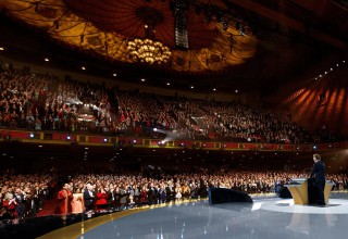 Thousands of Scientologists and their guests take in the profound accomplishments of the past year, and plan for an even greater 2018.
