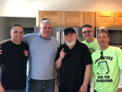 Union Carpenter Local 158 Volunteers Breathe Life Into Burned-Out Dwelling