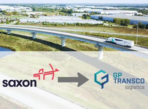 SAXON Freight Announces Corporate Name Change to GP Transco Logistics