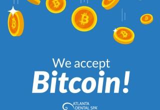 Dentist accepts bitcoin