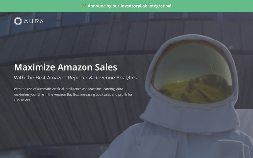 Aura Amazon Repricer and InventoryLab Announce Integration for Amazon FBA Sellers