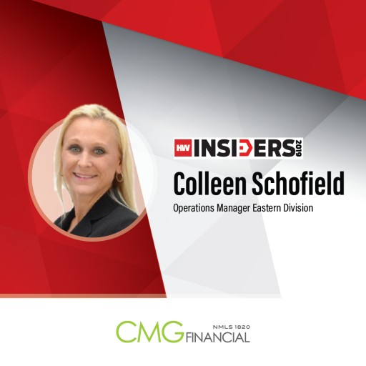 CMG Financial's Colleen Schofield Recognized as 2019 HousingWire Insider