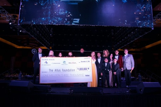 The Altus Foundation and City of Houston Host Record-Breaking Evening, Raising More Than $1 Million During Houston Gala on December 8