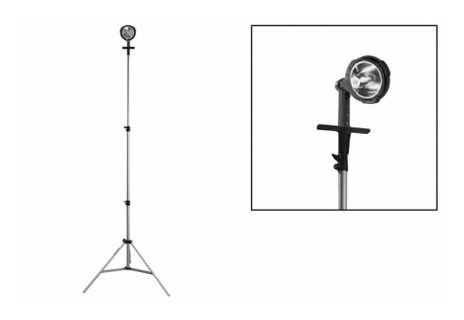 Larson Electronics Releases 25W Rechargeable Tripod Mounted LED Hunting Spotlight With 6 Million Candlepower