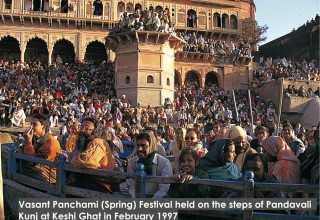 Festival at Kesi Ghat