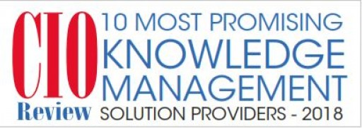 Working KnowledgeCSP Recognized in CIO Review 2018 List of 10 Most Promising Knowledge Management Solution Providers