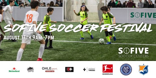 Sofive Soccer Center Teams Up With Bundesliga, New York City FC for Free Soccer Festival in Brooklyn