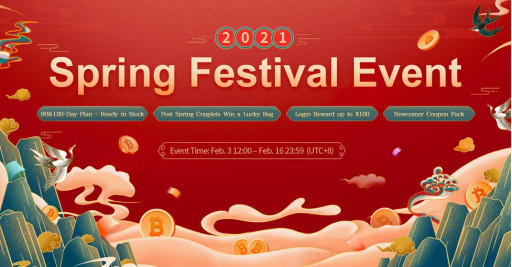 BitDeer.com Rings in Year of the Bull Spring Festival Promotional Offers