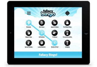 Fallacy Bingo App