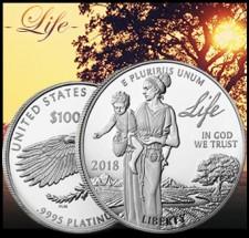 2018 Proof Platinum American Eagle - Life