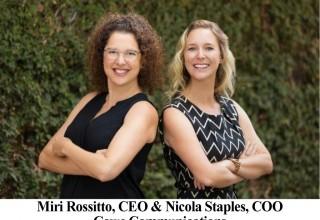 Miri Rossitto, CEO & Nicola Staples, COO