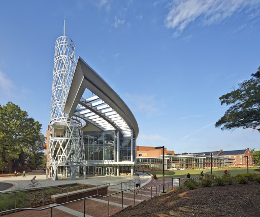 Duda|Paine Architects Wins ACUI Facility Design Award for North Carolina State University's Talley Student Union