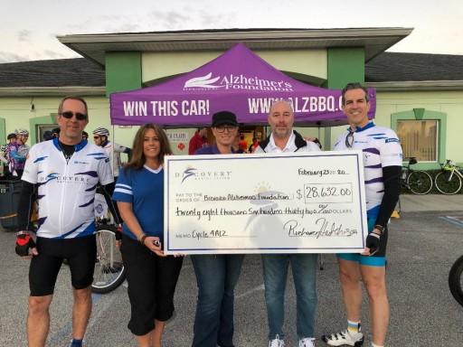 Discovery Senior Living Raises More Than $28,000 for Brevard Alzheimer's Foundation