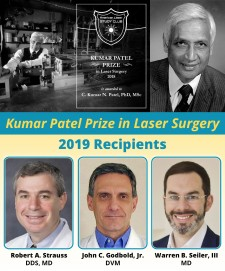 Kumar Patel Prize in Laser Surgery 2019 Recipients
