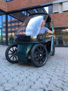 CityQ ebike with founder and CEO Morten Rynning