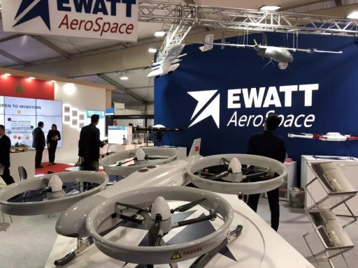 Ewatt Aerospace Debuts UAVs at the World's Second-Largest Air Show in London