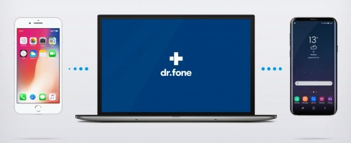 dr.fone - the Easiest Way to Transfer Android to iPhone