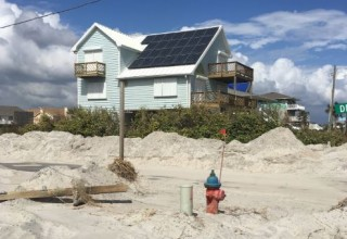 Solar installations by Cape Fear Solar Systems survived the high winds of hurricane Florence.