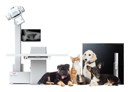 MyVet Imaging Launches the First Ever Elevating Veterinary X-Ray Table