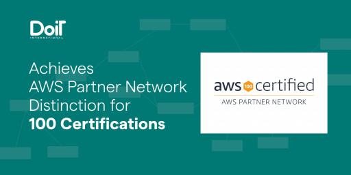 DoiT International Achieves AWS Partner Network Distinction for 100 Certifications