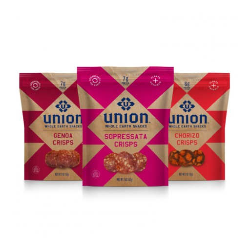 UNION™ Launches Revolutionary Charcuterie Crisps