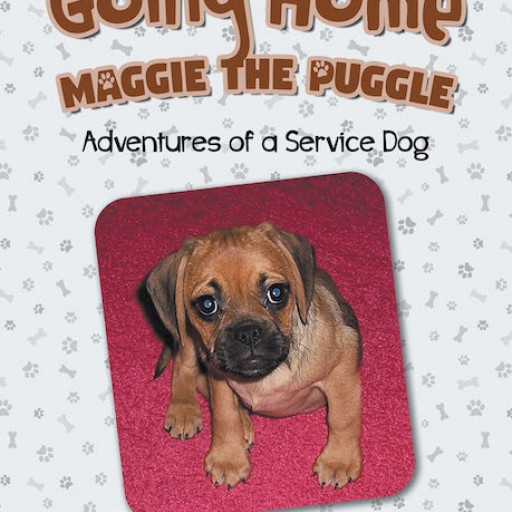 "Author Lisa M. Vecchione Ed. D.'s New Book ""Going Home: Maggie the Puggle; Adventures of a Service Dog"" is a Charming Tale of a Service Dog Who Finds Her Forever Home."