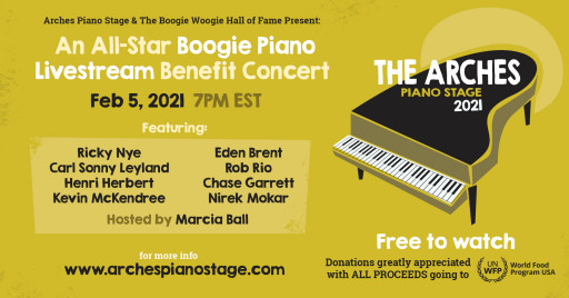 All Star Boogie Woogie Piano Livestream Concert Event