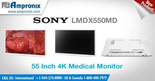 Sony's Best Selling 3D 8MP 4K Medical Monitors for 2018 Including the LMD-X310MD & LMD-X310MT by Ampronix