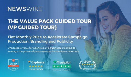 High Impact, Low Cost Media Relations Made Possible for Tech Space With Newswire's Value Pack Guided Tour