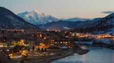 Winter in Glenwood Springs, CO