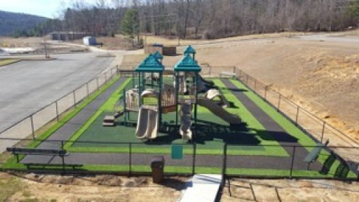 North Shelby Baptist Church Uses New Technology in Playground Floors