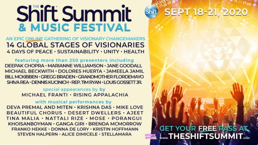 The Shift Summit & Music Festival to Take Place Sept. 18-21, 2020