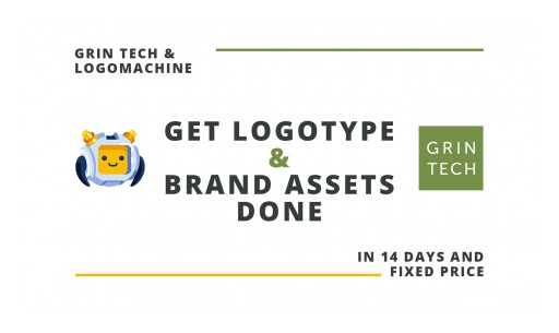 GRIN tech Collaborates With Logomachine to Provide Full Cycle Branding Services Worldwide