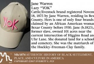 Texas Cattle Brand Caps