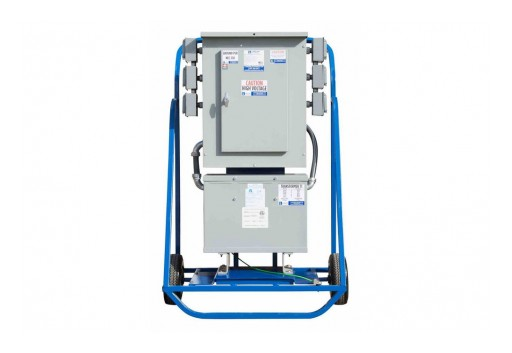 Larson Electronics Releases 3PH Temporary Power Distribution Station, 15 kVA, 480V-380V