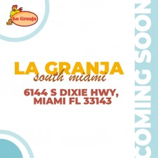 New La Granja Restaurant Opens in Miami  at 6144 S Dixie Hwy South Miami, FL 33143. Buen Provecho!
