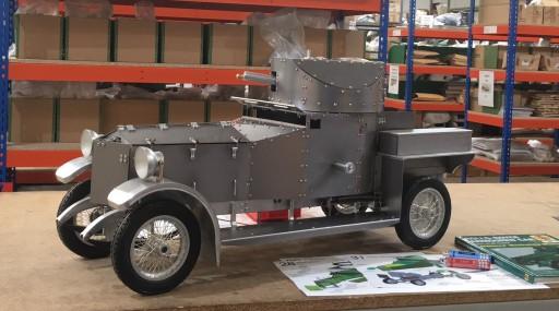 Rolls-Royce Silver Ghost Rolls Again