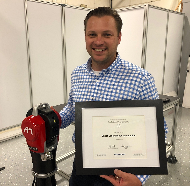 Exact Laser Receives Metrology Services Recognition From