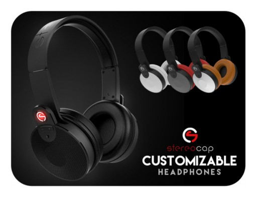 Stereocap Headphones Are a Modern Technology Fashion Statement
