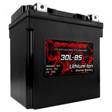 Banshee Lithium Ion Motorcycle Battery