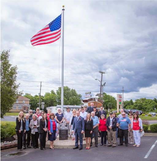Kennedy Investment Group Hosts Flag Day Ceremony and Monument Dedication in Honor of Area Veterans